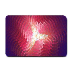 Fractal Red Sample Abstract Pattern Background Small Doormat