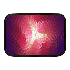 Fractal Red Sample Abstract Pattern Background Netbook Case (medium)