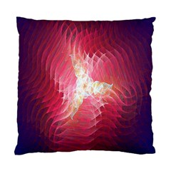 Fractal Red Sample Abstract Pattern Background Standard Cushion Case (two Sides)