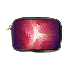 Fractal Red Sample Abstract Pattern Background Coin Purse