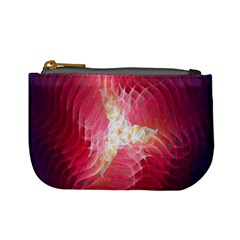 Fractal Red Sample Abstract Pattern Background Mini Coin Purses