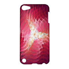Fractal Red Sample Abstract Pattern Background Apple Ipod Touch 5 Hardshell Case
