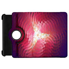 Fractal Red Sample Abstract Pattern Background Kindle Fire Hd 7