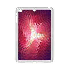 Fractal Red Sample Abstract Pattern Background Ipad Mini 2 Enamel Coated Cases