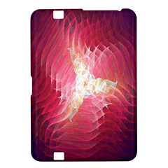 Fractal Red Sample Abstract Pattern Background Kindle Fire Hd 8 9