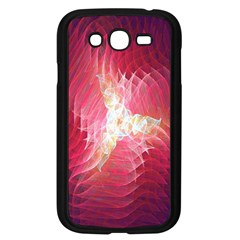 Fractal Red Sample Abstract Pattern Background Samsung Galaxy Grand Duos I9082 Case (black)