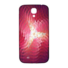 Fractal Red Sample Abstract Pattern Background Samsung Galaxy S4 I9500/i9505  Hardshell Back Case