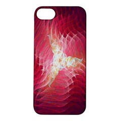Fractal Red Sample Abstract Pattern Background Apple Iphone 5s/ Se Hardshell Case
