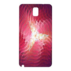 Fractal Red Sample Abstract Pattern Background Samsung Galaxy Note 3 N9005 Hardshell Back Case