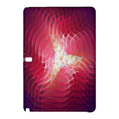 Fractal Red Sample Abstract Pattern Background Samsung Galaxy Tab Pro 10 1 Hardshell Case