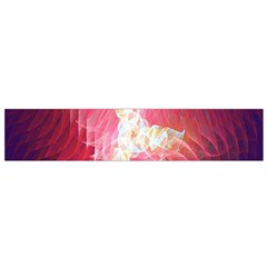 Fractal Red Sample Abstract Pattern Background Flano Scarf (small)