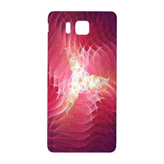 Fractal Red Sample Abstract Pattern Background Samsung Galaxy Alpha Hardshell Back Case
