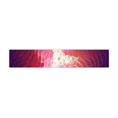 Fractal Red Sample Abstract Pattern Background Flano Scarf (mini)