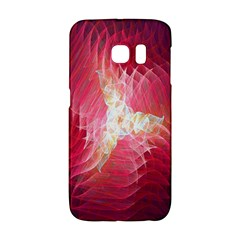 Fractal Red Sample Abstract Pattern Background Galaxy S6 Edge