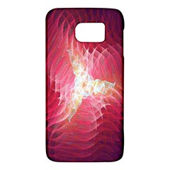 Fractal Red Sample Abstract Pattern Background Galaxy S6