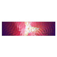 Fractal Red Sample Abstract Pattern Background Satin Scarf (Oblong)