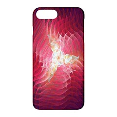 Fractal Red Sample Abstract Pattern Background Apple Iphone 7 Plus Hardshell Case