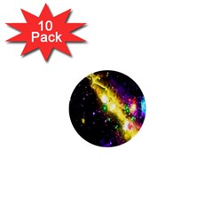 Galaxy Deep Space Space Universe Stars Nebula 1  Mini Buttons (10 Pack)