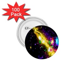 Galaxy Deep Space Space Universe Stars Nebula 1 75  Buttons (100 Pack)