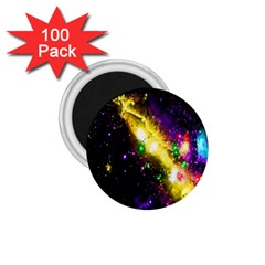 Galaxy Deep Space Space Universe Stars Nebula 1 75  Magnets (100 Pack)