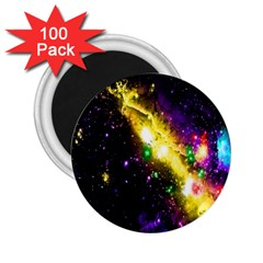 Galaxy Deep Space Space Universe Stars Nebula 2 25  Magnets (100 Pack)