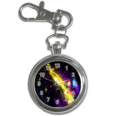 Galaxy Deep Space Space Universe Stars Nebula Key Chain Watches