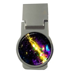 Galaxy Deep Space Space Universe Stars Nebula Money Clips (round)
