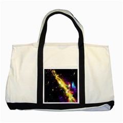 Galaxy Deep Space Space Universe Stars Nebula Two Tone Tote Bag