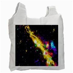 Galaxy Deep Space Space Universe Stars Nebula Recycle Bag (one Side)