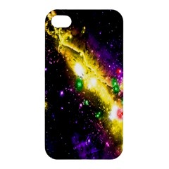 Galaxy Deep Space Space Universe Stars Nebula Apple Iphone 4/4s Premium Hardshell Case