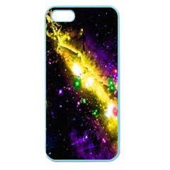 Galaxy Deep Space Space Universe Stars Nebula Apple Seamless Iphone 5 Case (color)