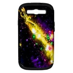 Galaxy Deep Space Space Universe Stars Nebula Samsung Galaxy S Iii Hardshell Case (pc+silicone)