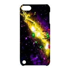 Galaxy Deep Space Space Universe Stars Nebula Apple Ipod Touch 5 Hardshell Case With Stand