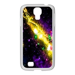 Galaxy Deep Space Space Universe Stars Nebula Samsung Galaxy S4 I9500/ I9505 Case (white)
