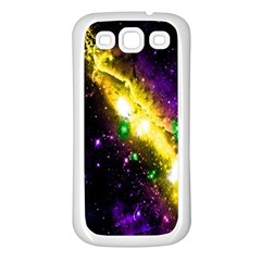 Galaxy Deep Space Space Universe Stars Nebula Samsung Galaxy S3 Back Case (white)