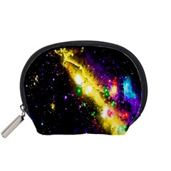 Galaxy Deep Space Space Universe Stars Nebula Accessory Pouches (small)