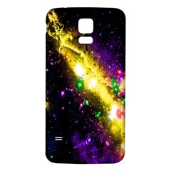 Galaxy Deep Space Space Universe Stars Nebula Samsung Galaxy S5 Back Case (white)