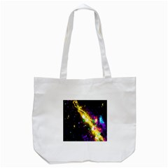 Galaxy Deep Space Space Universe Stars Nebula Tote Bag (white)