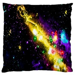 Galaxy Deep Space Space Universe Stars Nebula Standard Flano Cushion Case (two Sides)