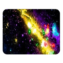 Galaxy Deep Space Space Universe Stars Nebula Double Sided Flano Blanket (large)