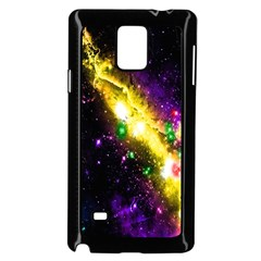 Galaxy Deep Space Space Universe Stars Nebula Samsung Galaxy Note 4 Case (Black)