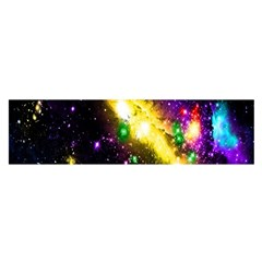 Galaxy Deep Space Space Universe Stars Nebula Satin Scarf (Oblong)