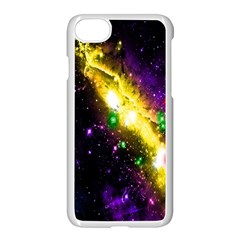 Galaxy Deep Space Space Universe Stars Nebula Apple Iphone 7 Seamless Case (white)
