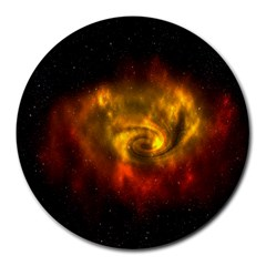 Galaxy Nebula Space Cosmos Universe Fantasy Round Mousepads