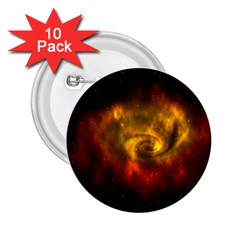 Galaxy Nebula Space Cosmos Universe Fantasy 2 25  Buttons (10 Pack)