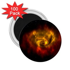 Galaxy Nebula Space Cosmos Universe Fantasy 2 25  Magnets (100 Pack)