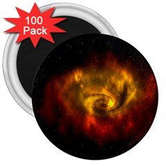 Galaxy Nebula Space Cosmos Universe Fantasy 3  Magnets (100 pack)
