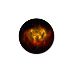 Galaxy Nebula Space Cosmos Universe Fantasy Golf Ball Marker
