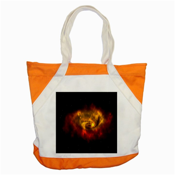 Galaxy Nebula Space Cosmos Universe Fantasy Accent Tote Bag