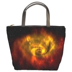 Galaxy Nebula Space Cosmos Universe Fantasy Bucket Bags